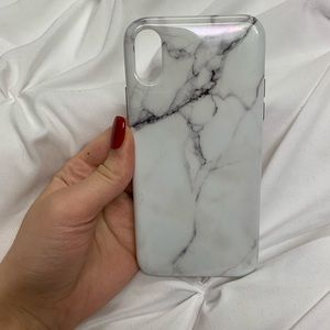 iPhone X Marble Phone Case